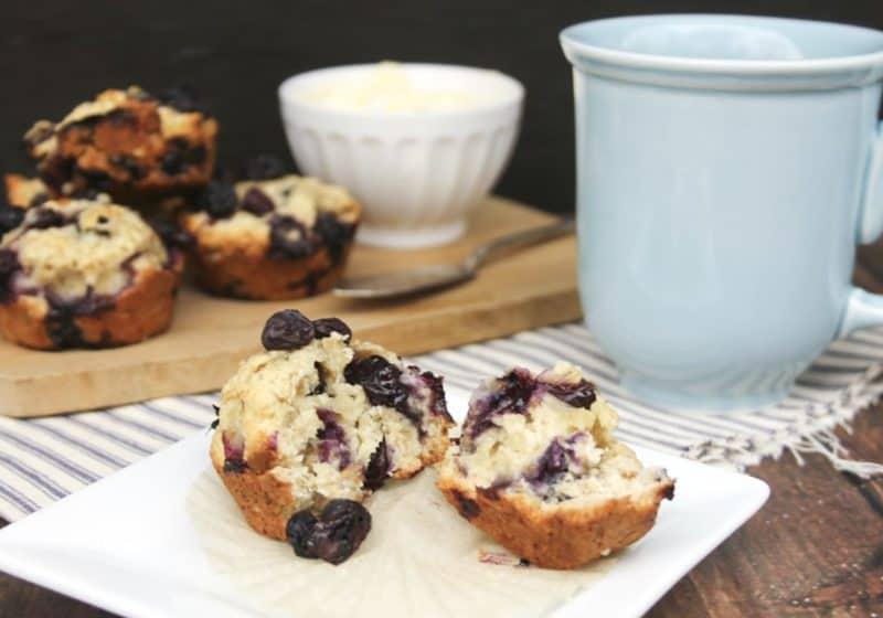 blueberry oat muffins recipe