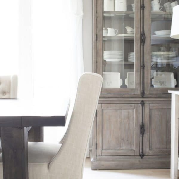 farmhouse dining room hutch