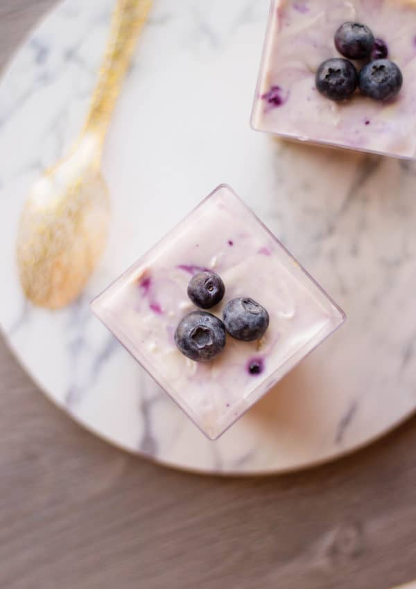 Blueberry Cheesecake – Mini, Single Serving Desserts