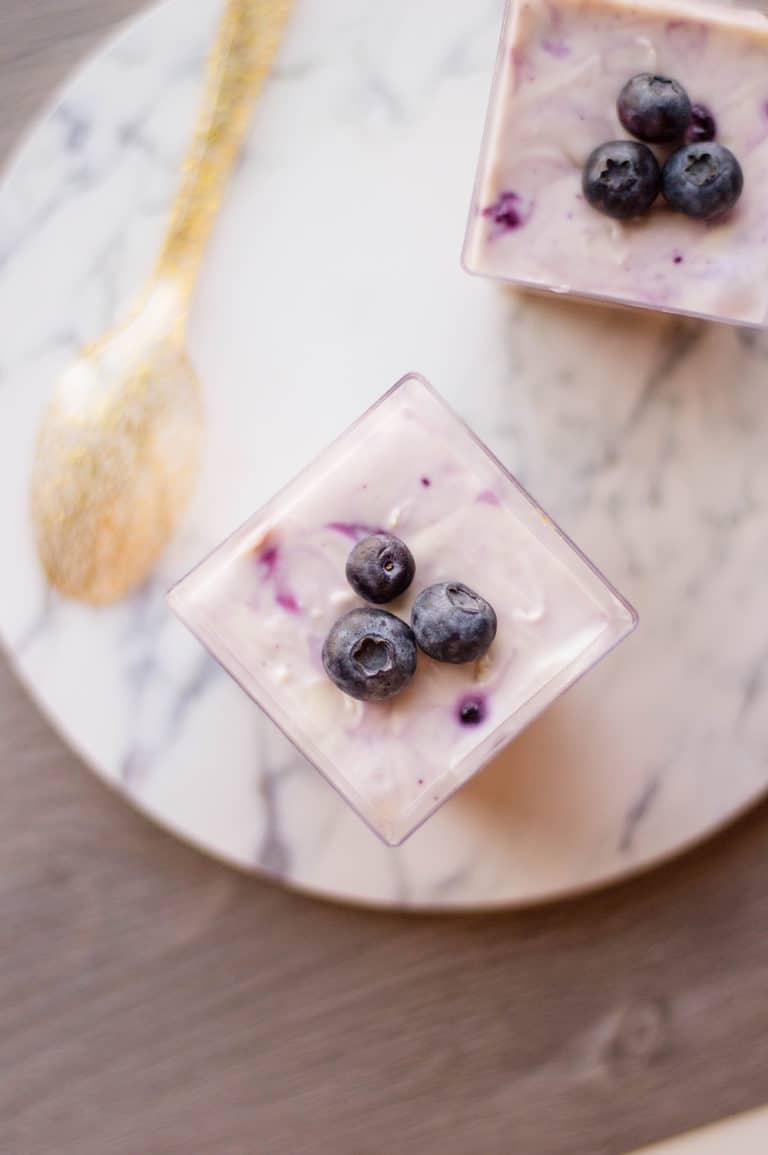 Blueberry Cheesecake – Mini, Single Serving Desserts