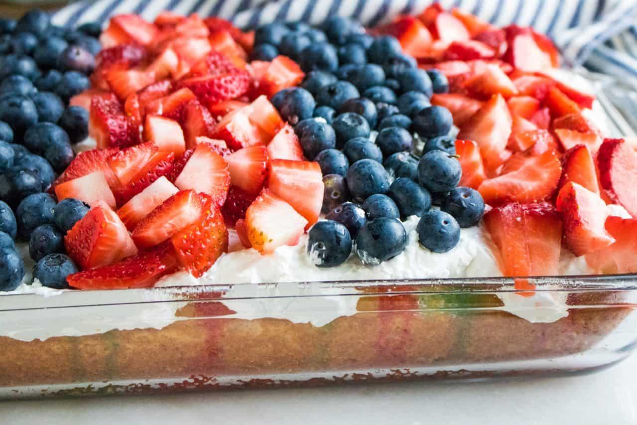 patriotic poke cake whole
