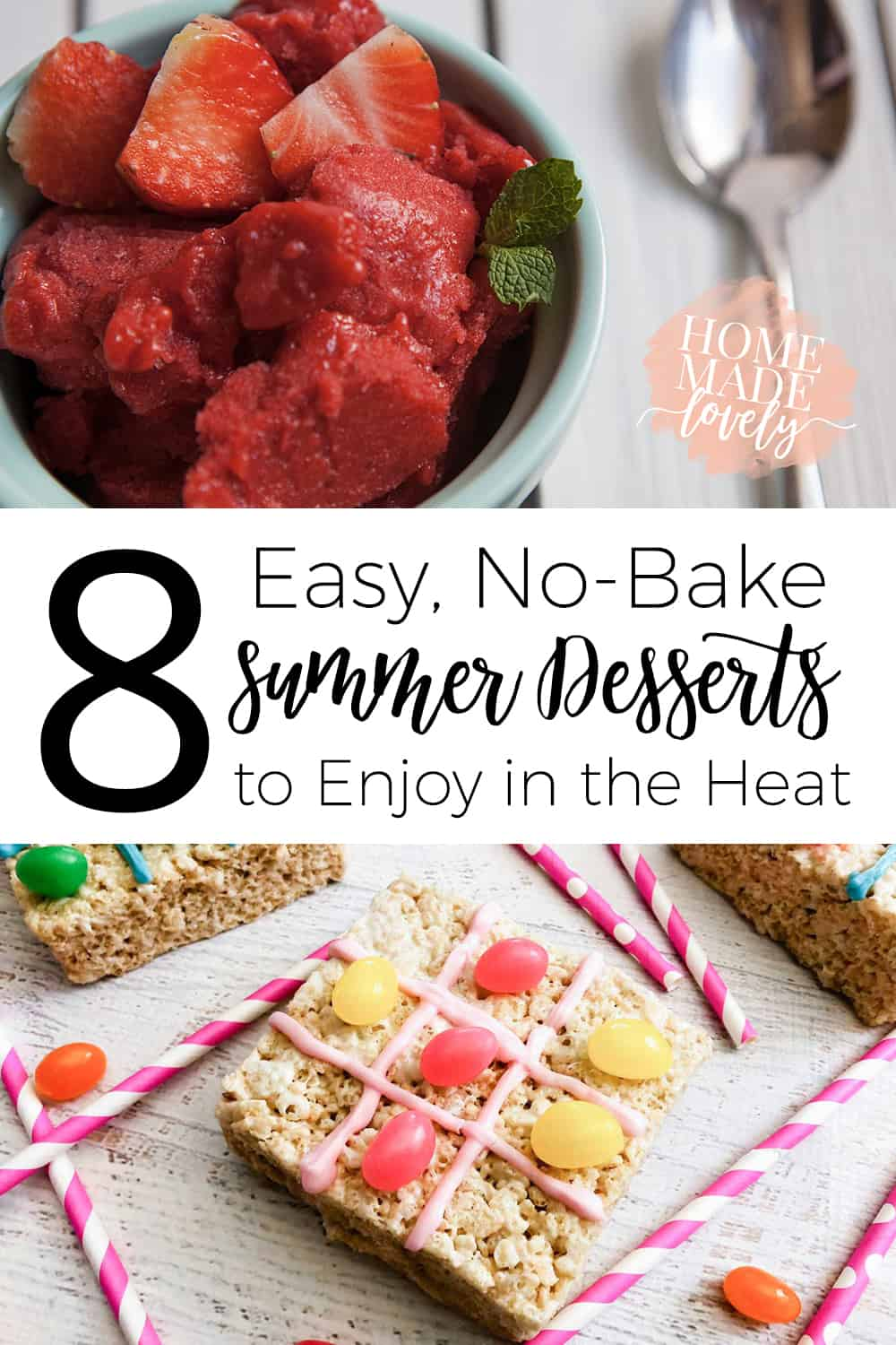 easy, no-bake summer desserts to make in the heat