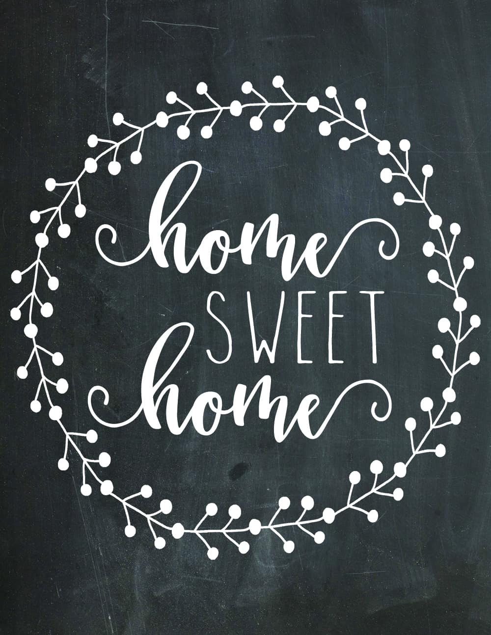home sweet home printable