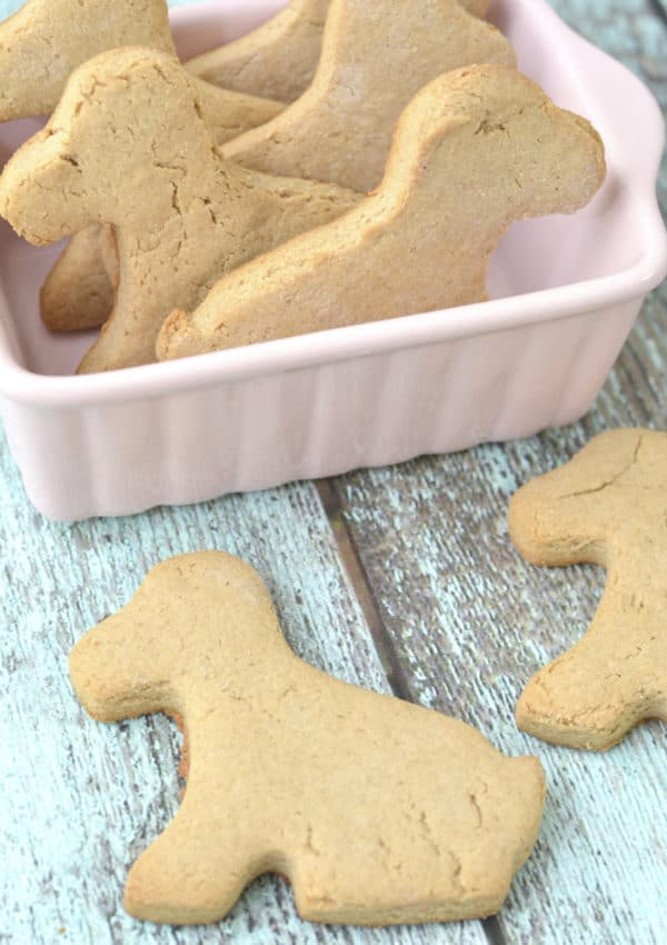 Make Your Own Cheap & Easy Peanut Butter Homemade Dog Biscuits