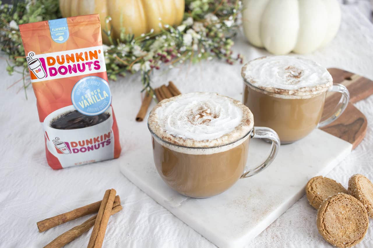 Dunkin Donuts Walmart Spiced Vanilla Latte