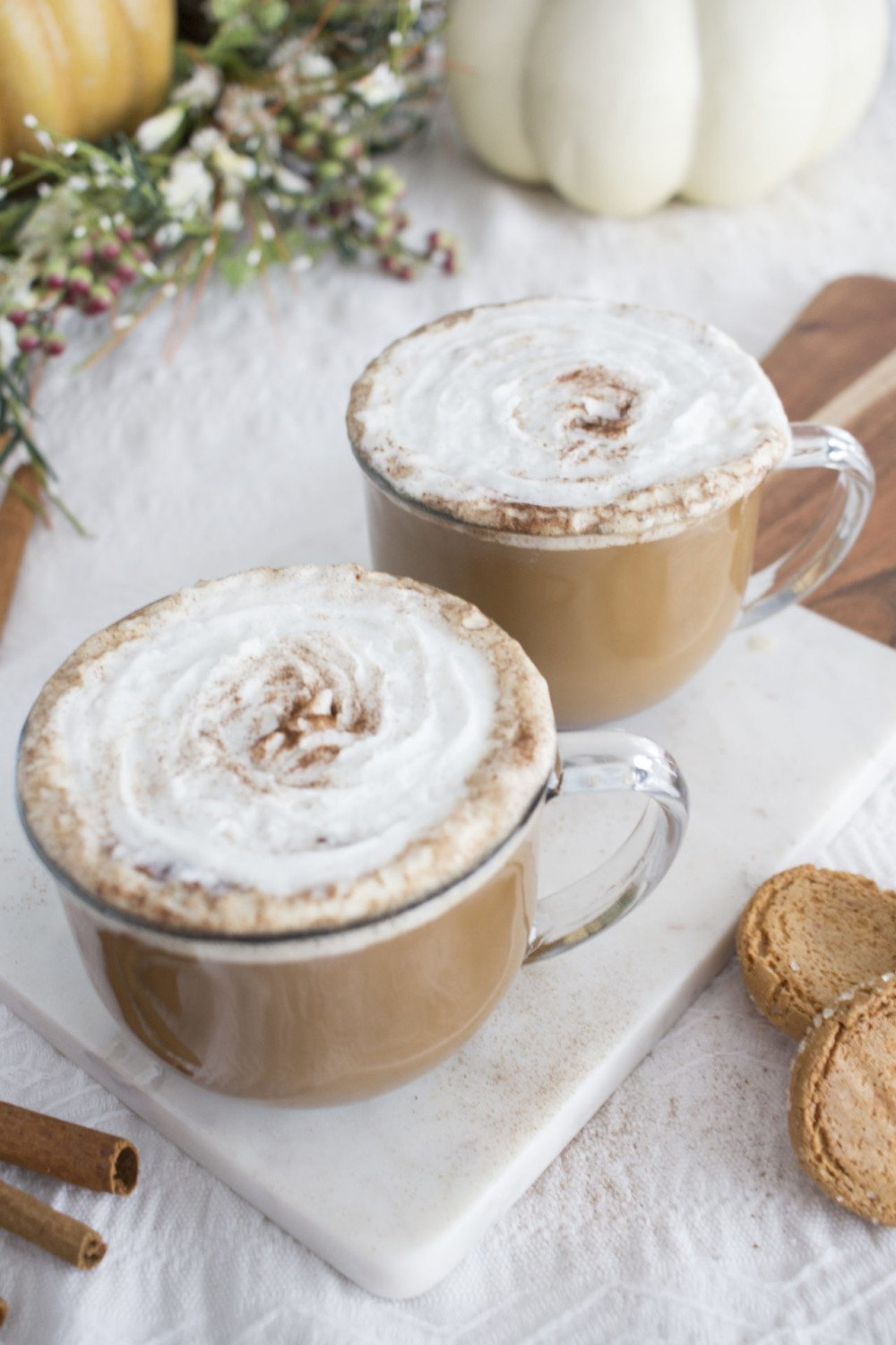 How to make a spiced vanilla latte at home