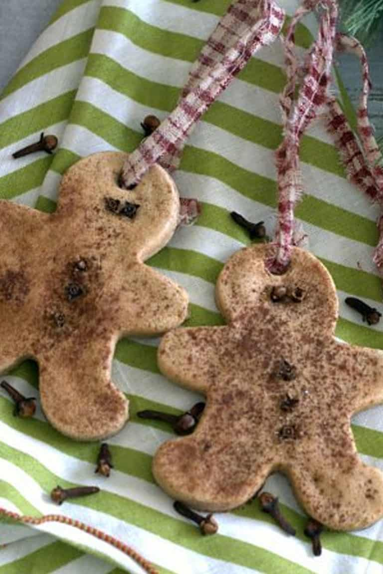 How to Make Your Own Authentic Gingerbread Salt Dough Ornaments