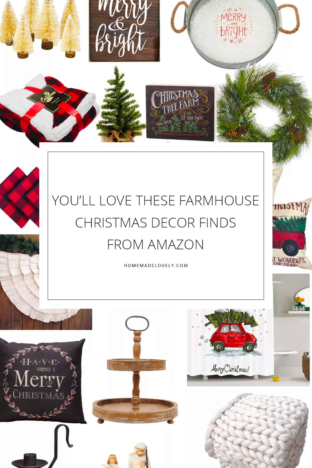 You Ll Love These Farmhouse Christmas Decor Finds From Amazon