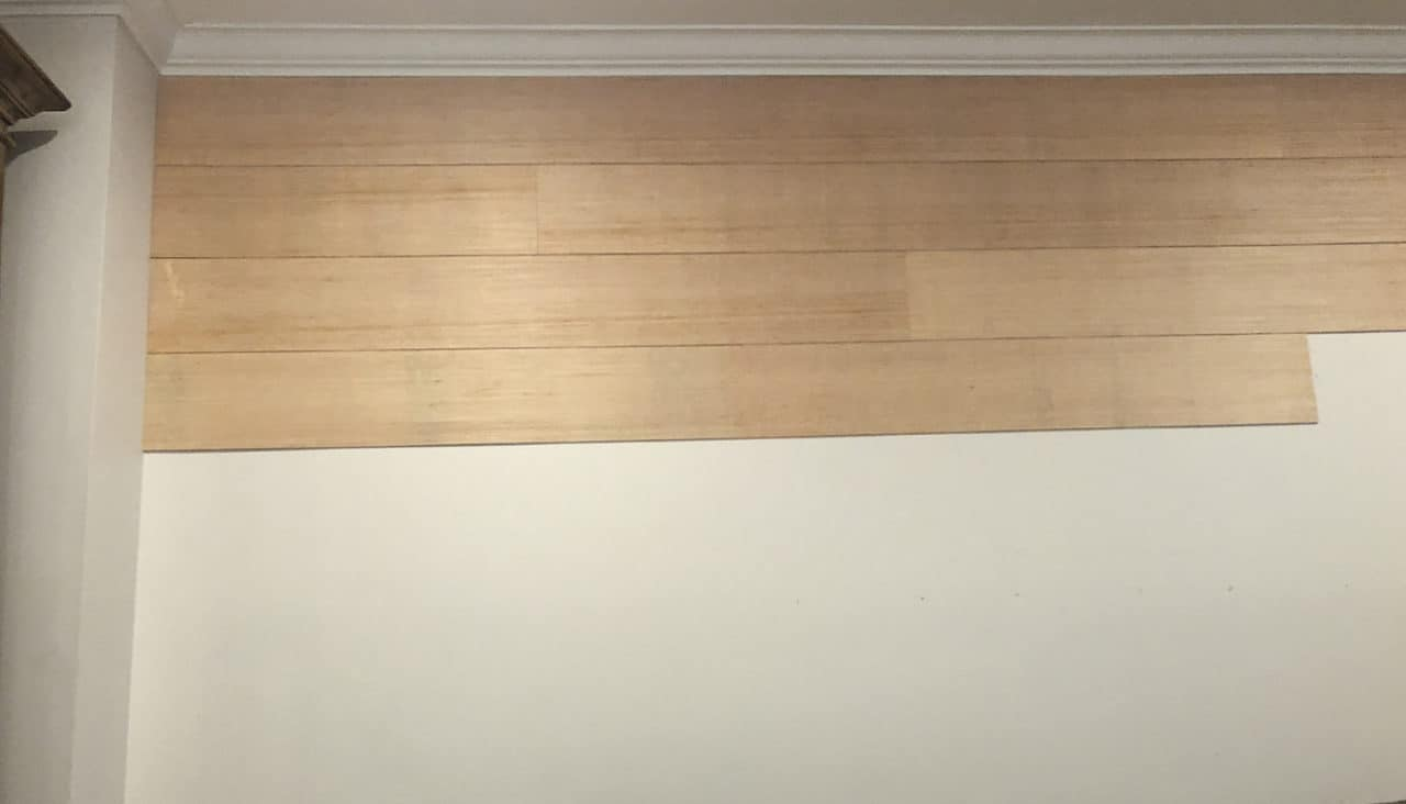 varying seams in shiplap