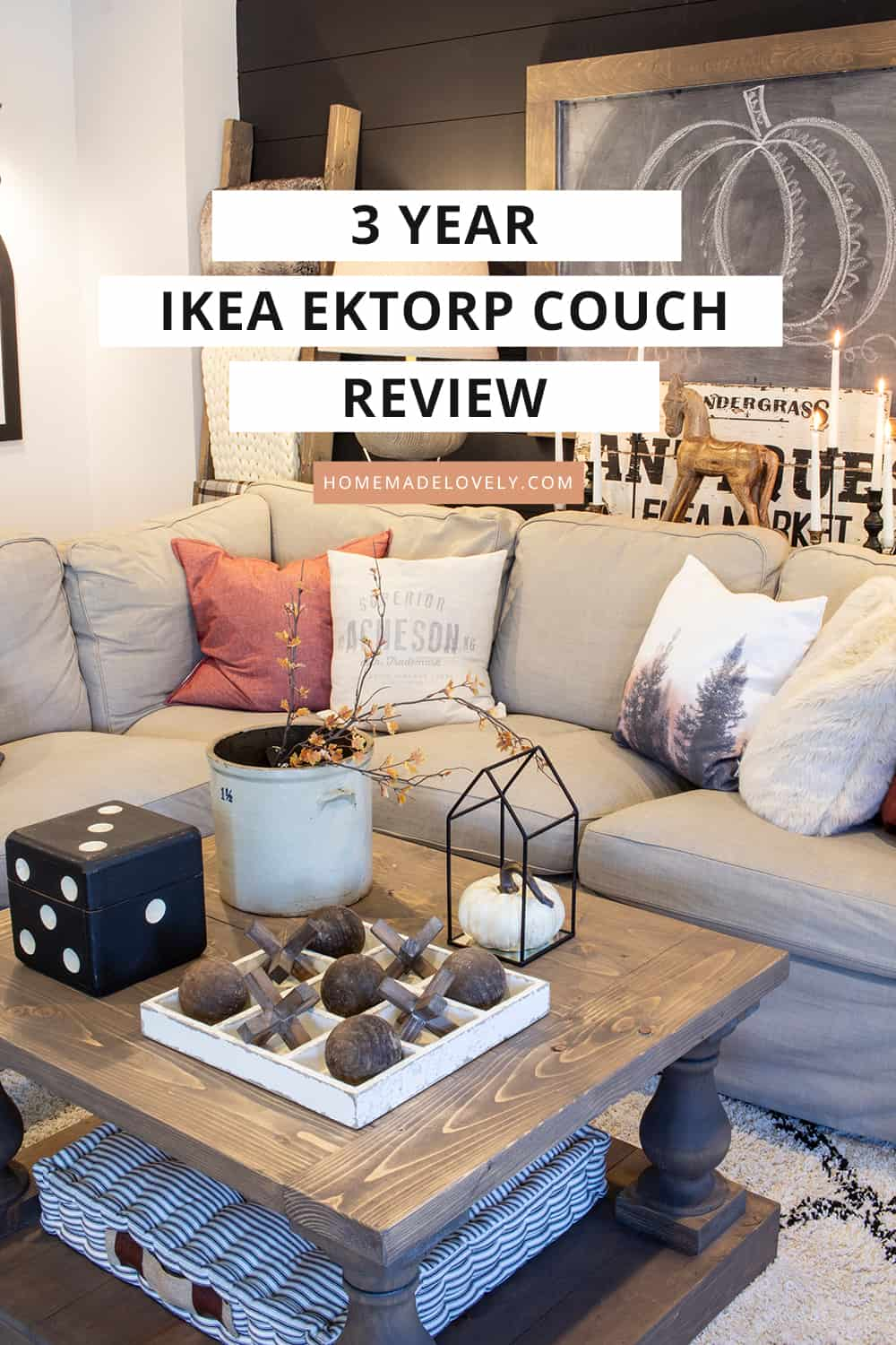Phenomenal An Honest Review Of The Ikea Ektorp Couch After 3 Years Theyellowbook Wood Chair Design Ideas Theyellowbookinfo