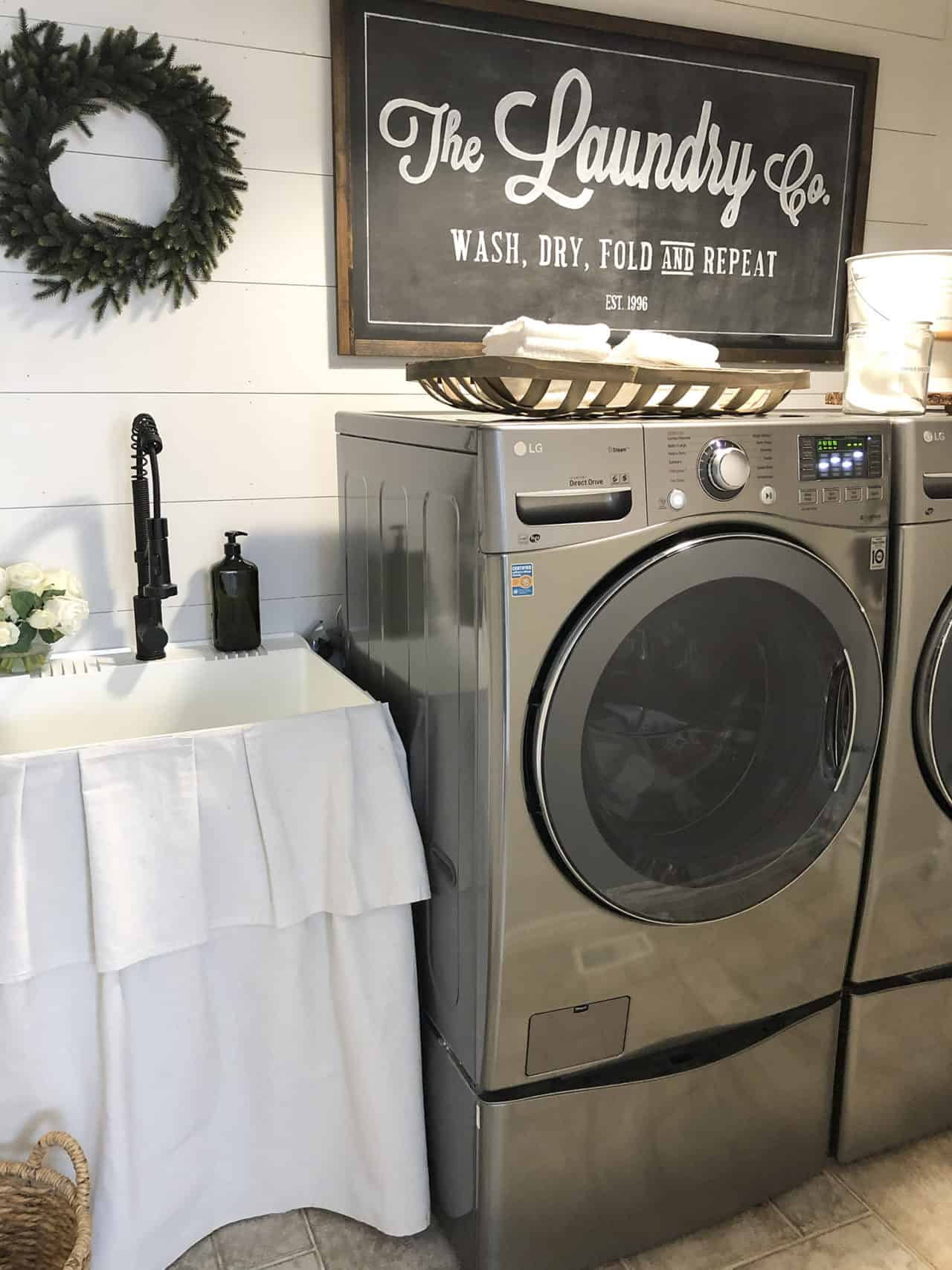 Home Made Lovely Laundry Room