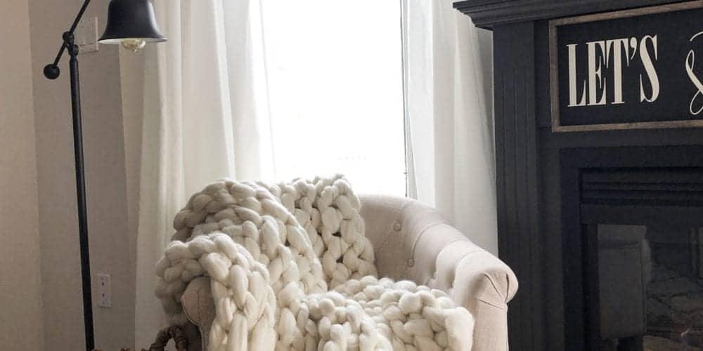 HomeMadeLovely living room corner