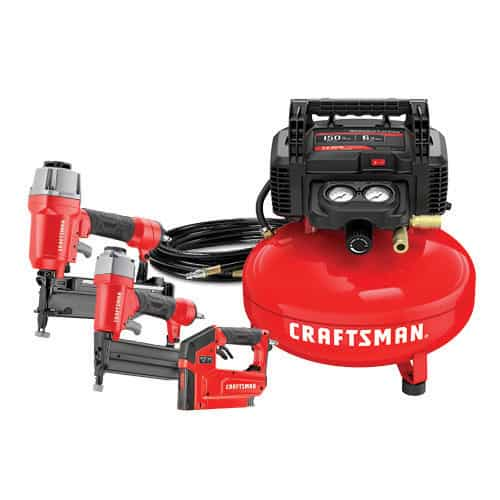 CRAFTSMAN 3 Tool & Air Compressor Combo Kit