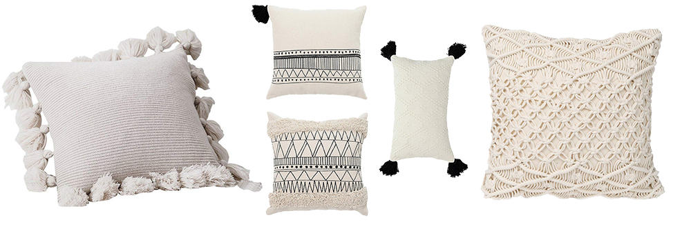 boho farmhouse pillows