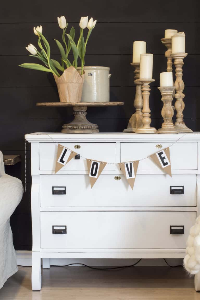 Make This Fun & Easy DIY Pennant Banner with Stick-on Letters