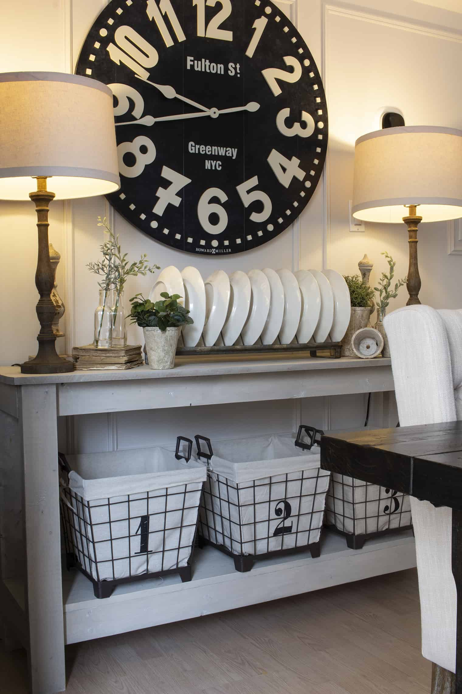 farmhouse style neutral sideboard spring 19