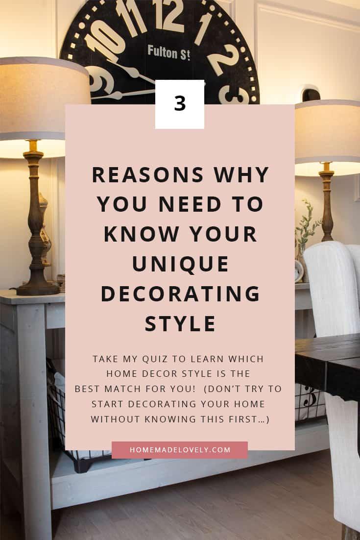 decorating style quiz