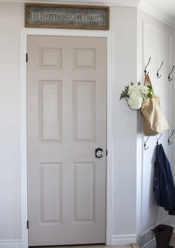 Get a Beautiful Designer Look When You Paint Your Interior Doors!