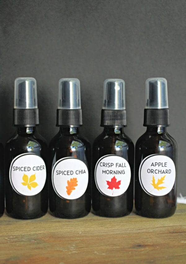 How to Make Essential Oil Room Sprays for Fall!