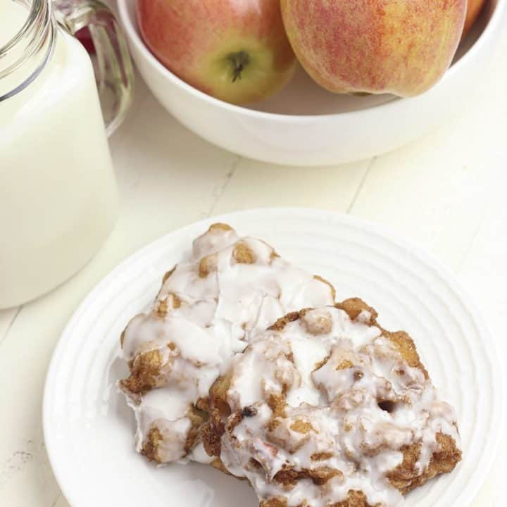Delicious Gluten Free Apple Fritters