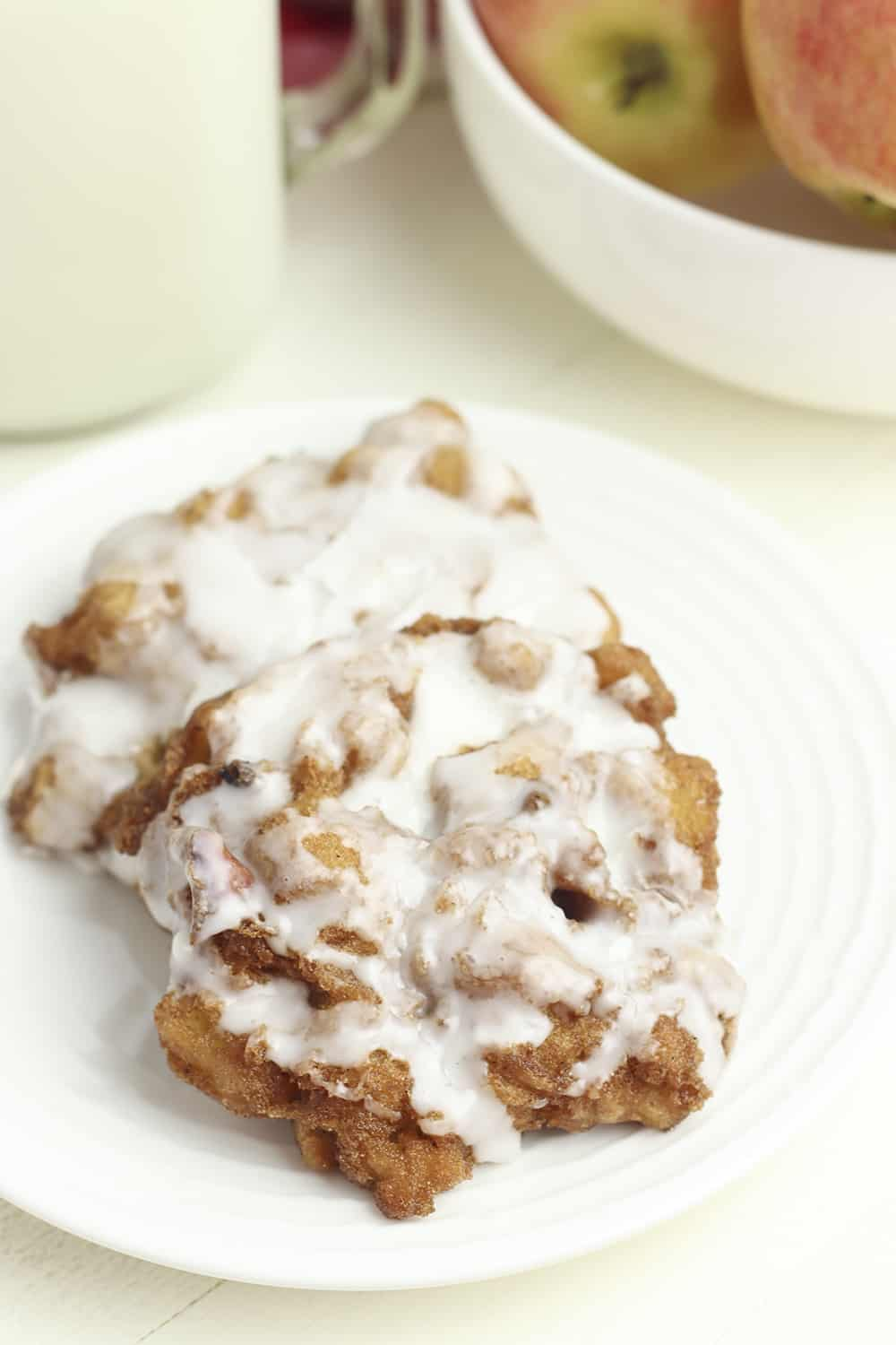 gluten free apple fritters from scratch