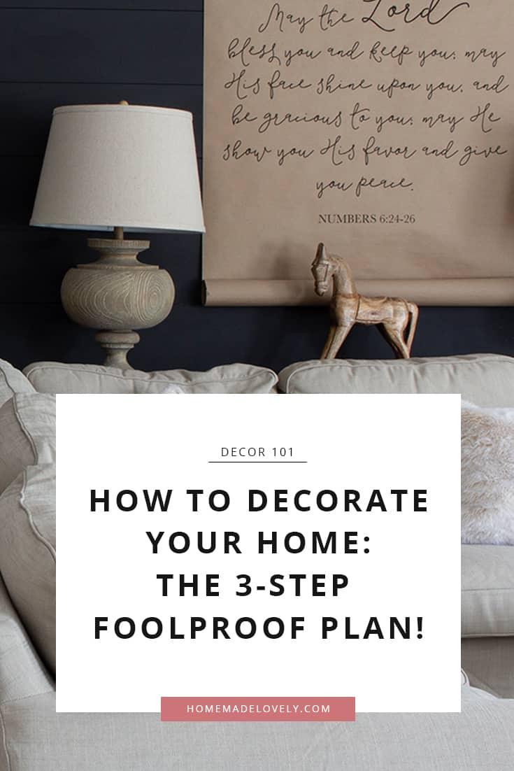 Comment décorer votre maison: le plan étanche
