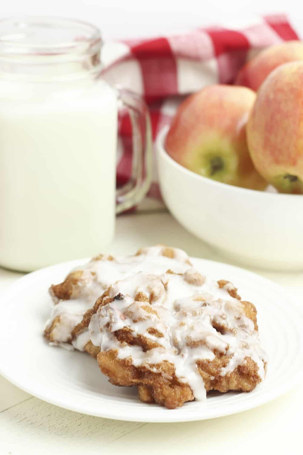 how to make gluten free apple fritters at home
