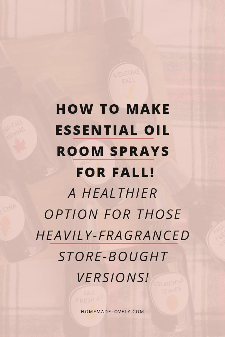 make essential oil room sprays