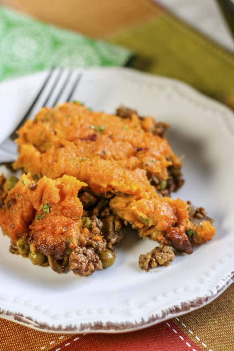 Sweet Potato Topped Shepherd's Pie Recipe