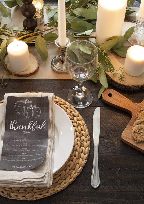 How to Create a Relaxed Natural Candlelit Fall Table