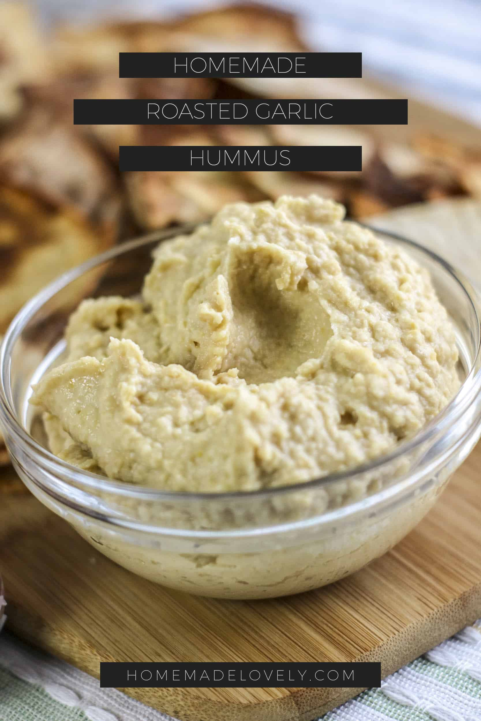 roasted garlic hummus pin 2