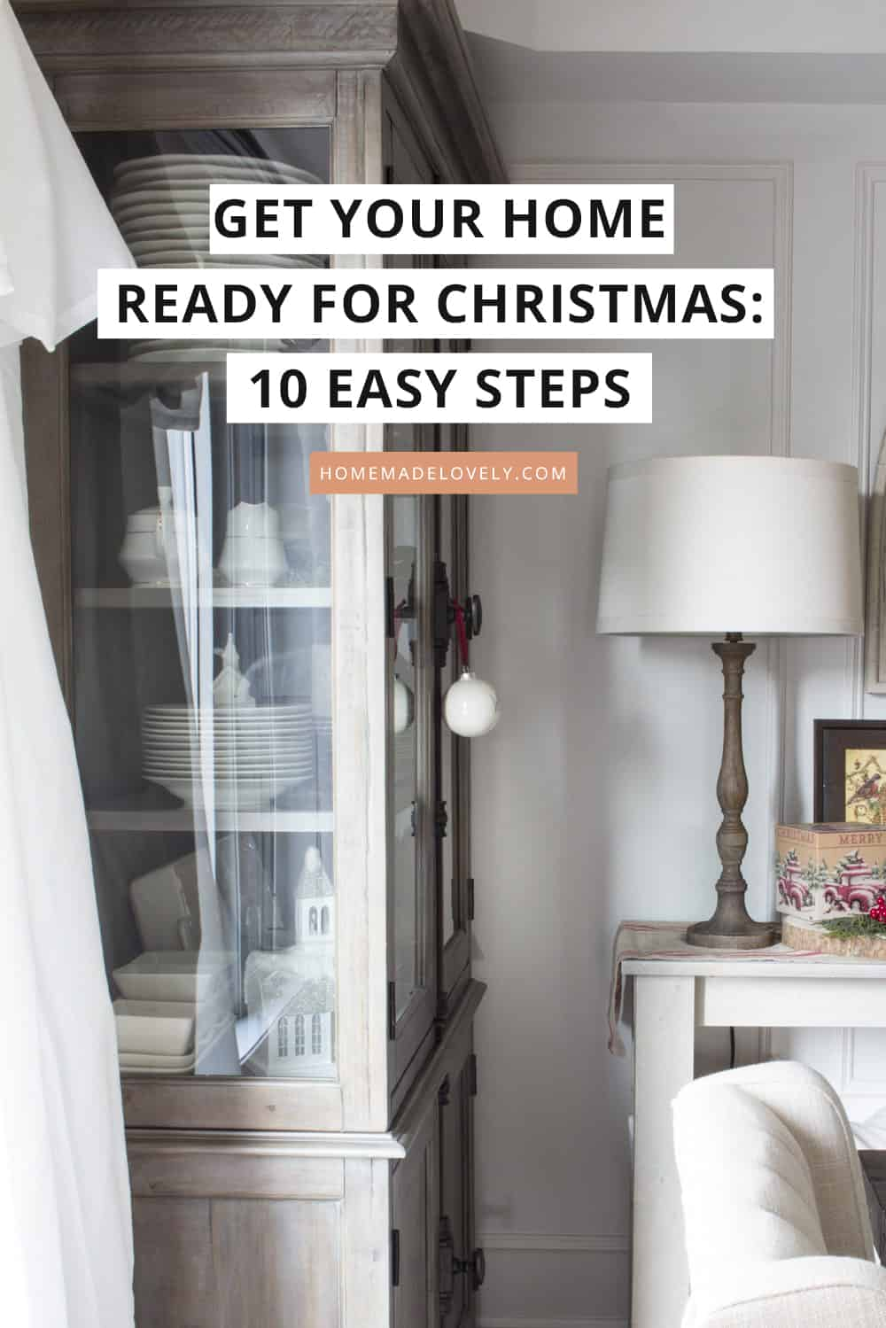 Get your home ready for the Christmas in 10 easy steps