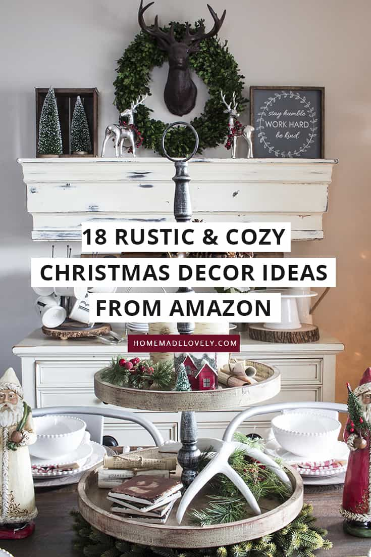 18 rustic and cozy decor ideas from Amazon
