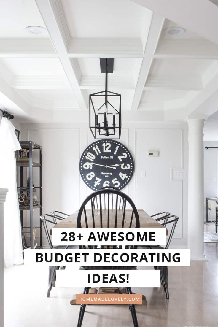 28+ Awesome Budget Decorating Ideas You Can Steal for Your ...