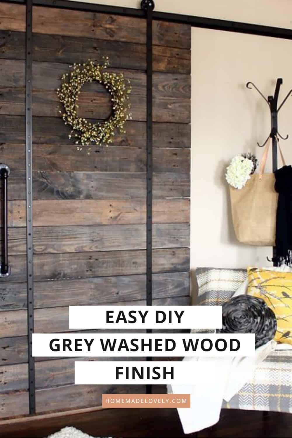 Easy Grey Washed Wood