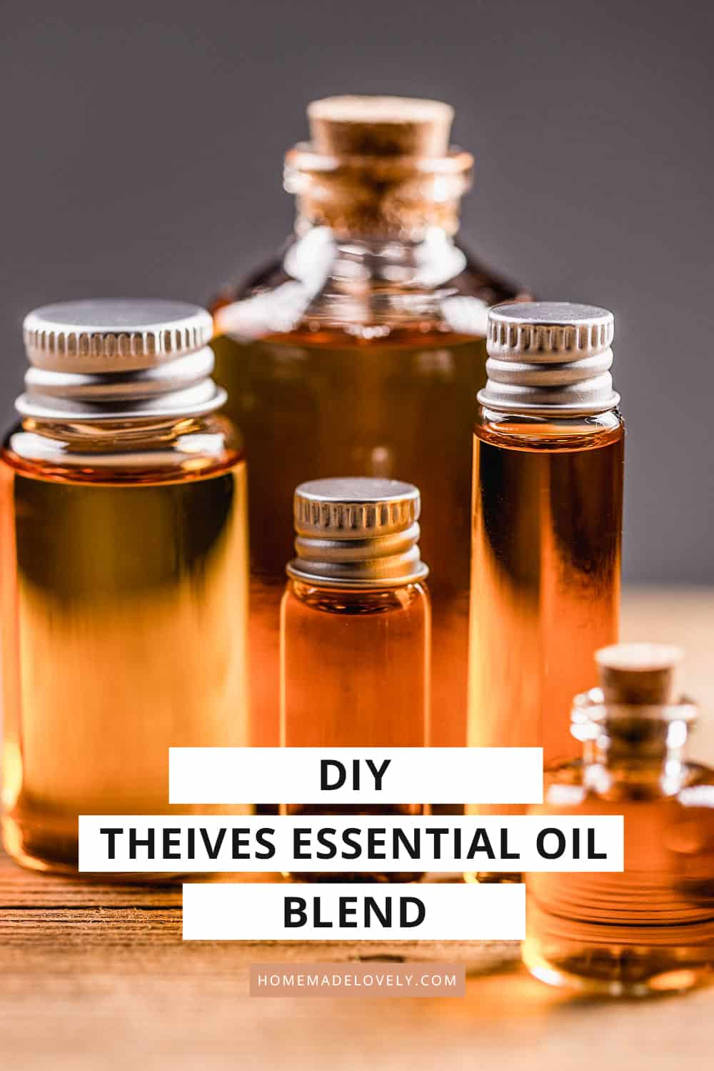 DIY Thieves Essential Oil Blend