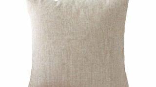 Linen Burlap Accent Pillow Covers