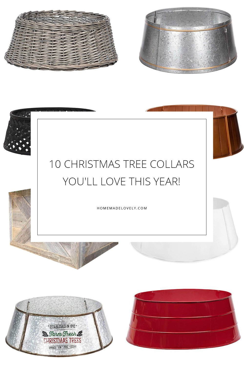 10 Christmas Tree Collars