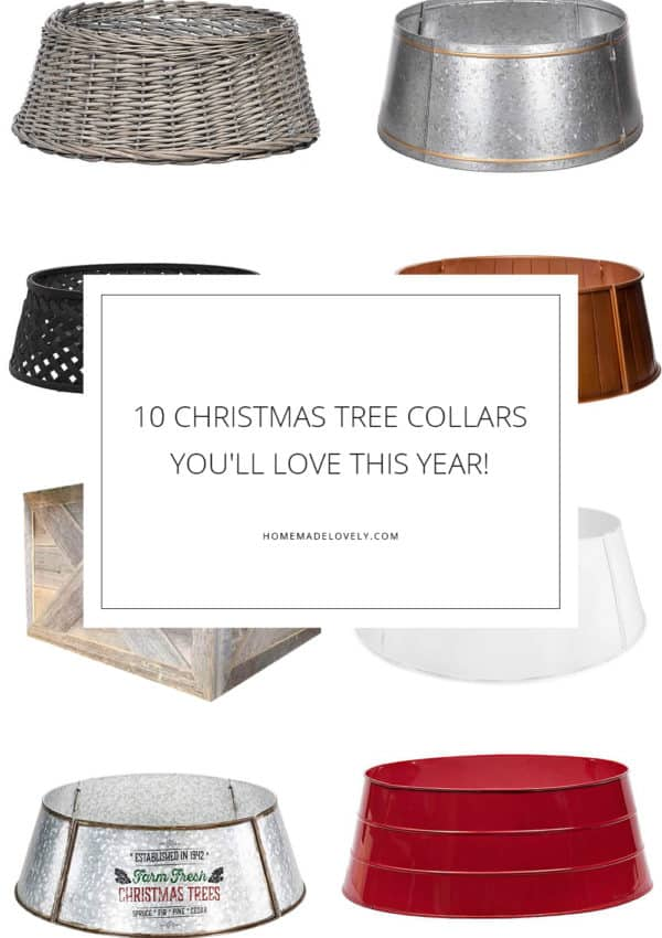 10 Christmas Tree Collars You'll Love This Year!
