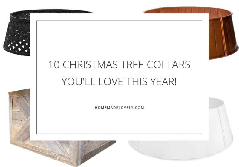 10 Christmas Tree Collars