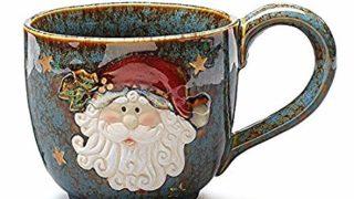 Large Santa Clause 30 Oz Christmas Mug