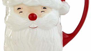 Martha Stewart 3d Santa Mug