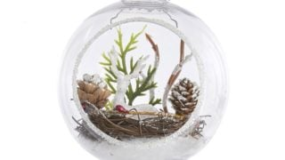 Deer Ball Ornament