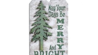 Tree Tag Ornament