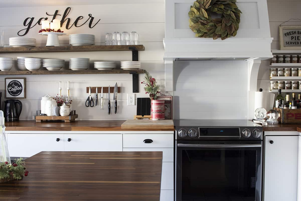 gather sign in kitchen holiday 2019