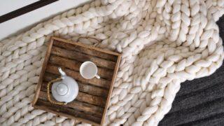 Wool blanket 100 % merino wool