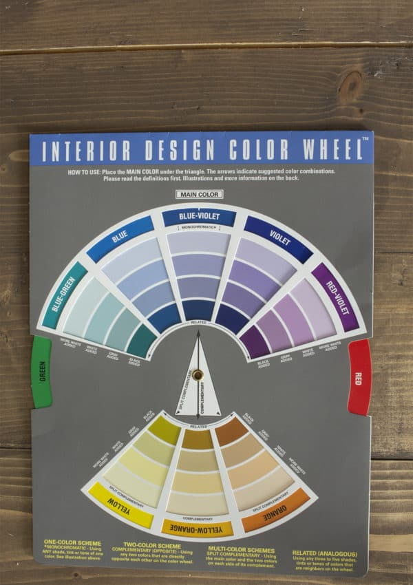 How to Use a Color Wheel for Decorating and Choosing Colors That Work