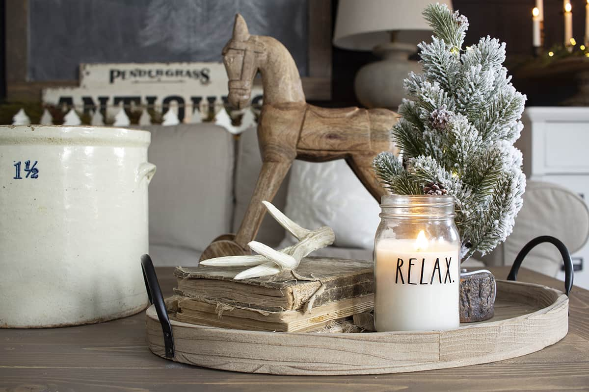 Easy Ways To Decorate For Winter After Christmas Winter Living Room