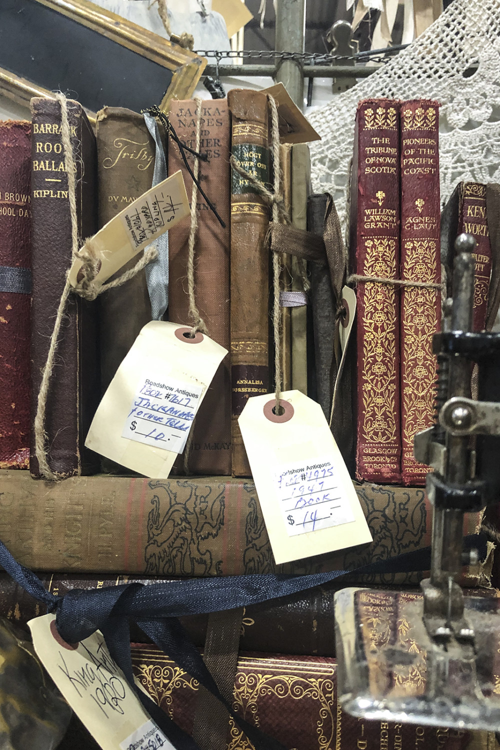 Vintage Books at Antique Mall