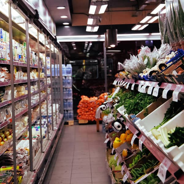 ethnic food store interior